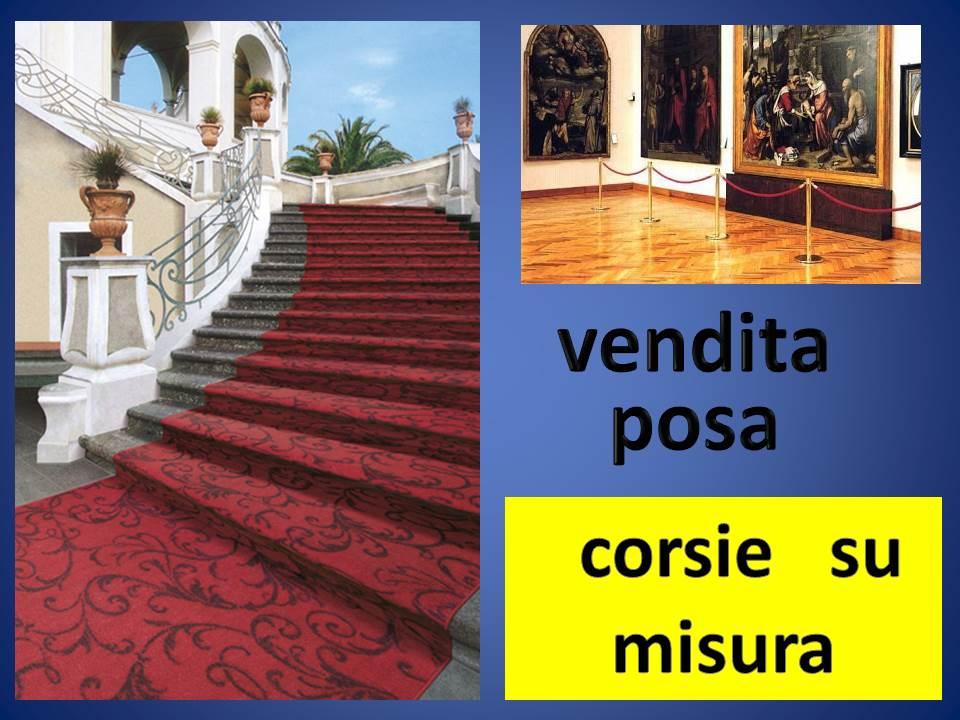 CORSIE E ACCESSORI PER CORRIDOI E SCALE